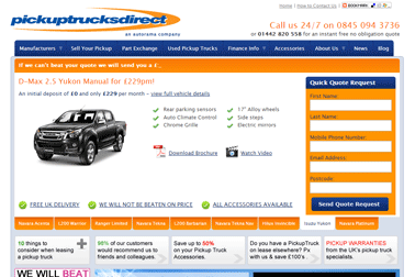 Pickup Trucks Direct